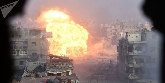 درگیری سنگین عناصر مسلح و نیروهای سوریه در حماه/ ۳۰ تروریست  کشته شد
