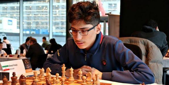 علیرضا فیروزجا فرد شماره یک شطرنج ایران حاضر به دیدار با نماینده اسرائیل نشد