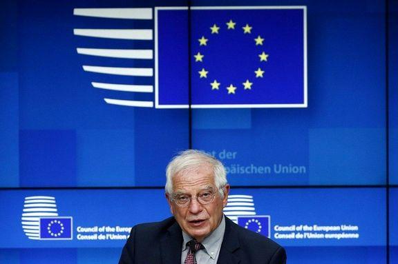 جوزپ بورل: لغو تحریم های ایران ادامه خواهد یافت