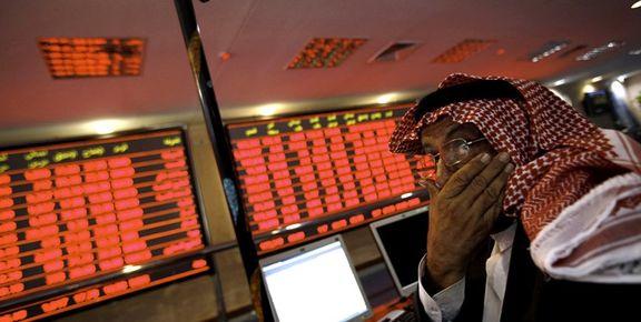 قرمز شدن تابلوهای بورس عربستان /بندرالفجیره بورس عربستان را بهم ریخت