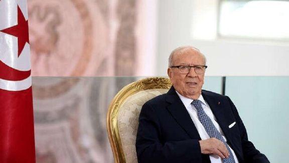 رئیس جمهور تونس به گمانه زنی های مردم درمورد حکومت پایان داد