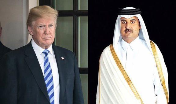 امیر قطر نهم ژوئیه به کاخ سفید می رود