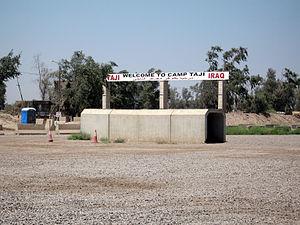 حمله راکتی به پایگاه «التاجی» در شمال بغداد