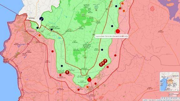 منطقه عاری از سلاح در استان ادلب مشخص شد