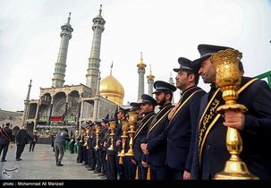 مراسم مذهبی و نمازهای جماعت در حرم مطهر حضرت معصومه (س) لغو شد