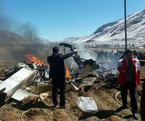 آخرین جزئیات از سقوط بالگرد مرزبانی در ارومیه / یک شهید و 8 مصدوم