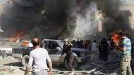 وقوع انفجار شدید دیگری در ادلب + فیلم