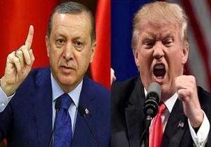 اردوغان  نامه توهین آمیز ترامپ را به سطل آشغال انداخت