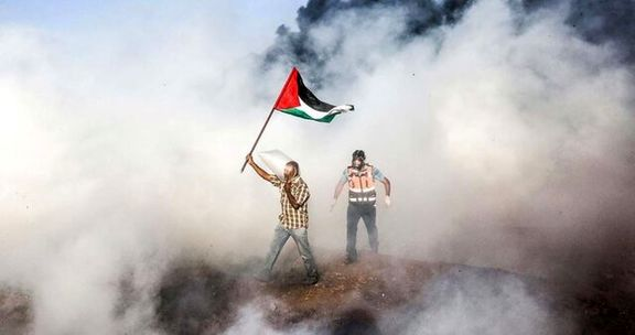 تظاهرات در غزه با تلفات همراه شد/5نفر زخمی در تظاهرات فلسطین