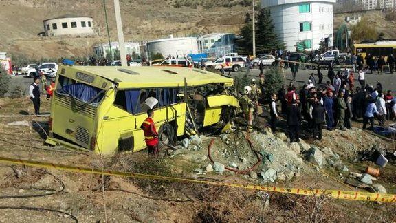 حکم پرونده واژگونی اتوبوس دانشگاه آزاد صادر شد