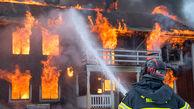 آتشسوزی یک کارگاه تزریق پلاستیک در  بلوار توس
