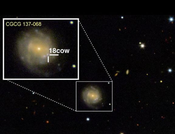 ثبت تولد یک سیاهچاله برای نخستین بار