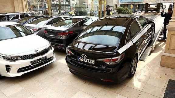 جدیدترین قیمت خودرو های خارجی در 14 آبان