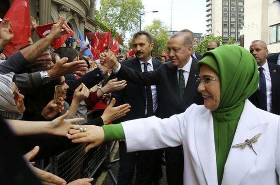تظاهرات کردها در انگلیس علیه اردوغان به خشونت کشیده شد