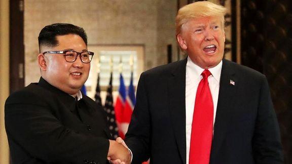 سوال روزنامه واشنگتن: آیا کیم جونگ اون اطلاعات هسته ای ایران را به ترامپ لو می دهد؟