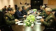 وزیر دفاع ایران  با وزیر دفاع فدارسیون روسیه دیدار و گفتوگو کرد