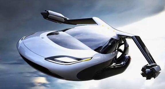 روسیه اتومبیل پرنده با موتور هیبرید میسازد