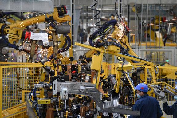 افت تولید کارخانهای چین به دنبال افزایش قیمت مواد اولیه