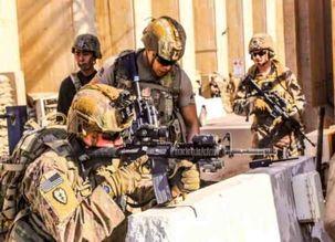 یک سرباز آمریکایی در سوریه مرد