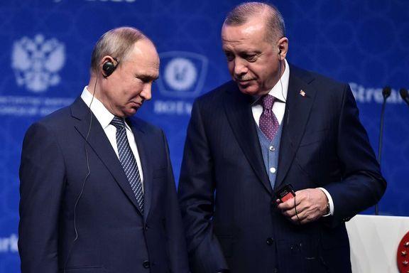 اردوغان و پوتین درباره لیبی گفتگوی تلفنی کردند