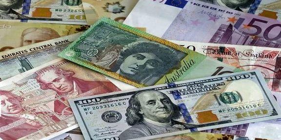 نرخ رسمی تمام ۴۶ ارز ثابت ماند