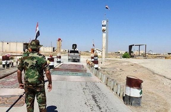 یک انبار مهمات در حسکه سوریه منفجر شد