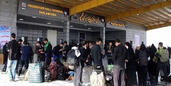۳۰۰ هزار مسافر عراقی از مرز شلمچه وارد کشور شدند