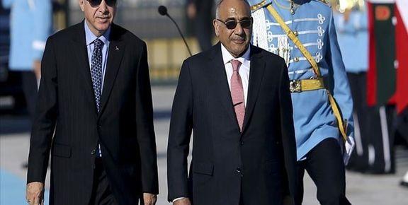 دیدار نخستوزیر عراق با  اردوغان