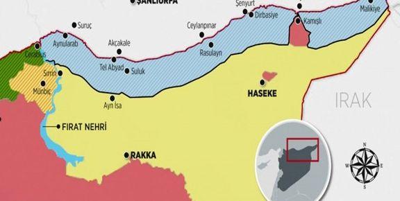 آمریکا حریم هوایی سوریه را به روی ترکیه مسدود کرد