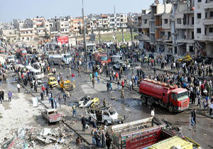 انفجار بمب در سوریه چند کشته و زخمی داد