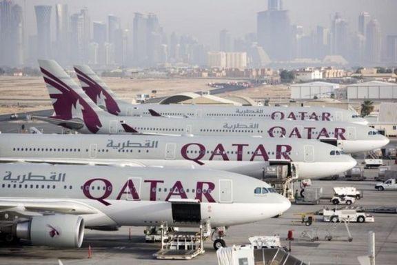 قطر ایرویز بلیط جدید برای مسافران جتامانده شب گذشته صادر می کند