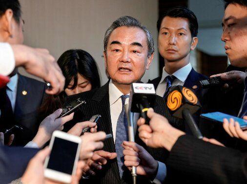 سفر وزیر خارجه پکن به کره جنوبی