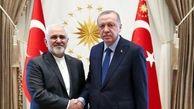محمدجواد ظریف با اردوغان دیدار کرد