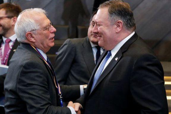 جوزف بورل با وزیر خارجه آمریکا در واشنگتن دیدار میکند
