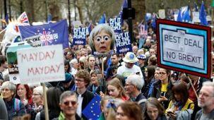 تظاهرات بزرگ ضد بریگزیت در لندن برگزار شد