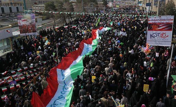 راهپیمایی ۲۲ بهمن در سراسر کشور آغاز شد/  رئیسجمهور به خیل عظیم راهپیمایان پیوست