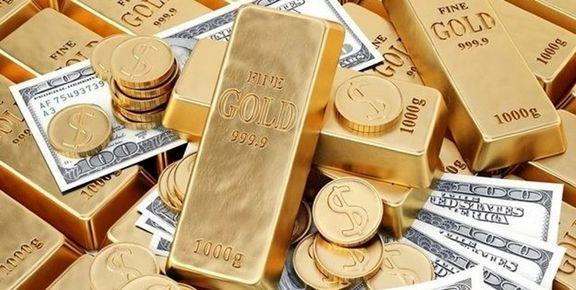 صعود ۷ دلاری قیمت طلا در بازار جهانی