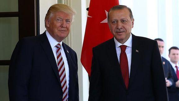 اردوغان جزئیات تماس تلفنی خود با ترامپ را فاش کرد