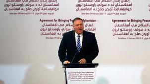 پمپئو: حمله به سفارت بدون پاسخ کوبنده همراه نخواهد ماند
