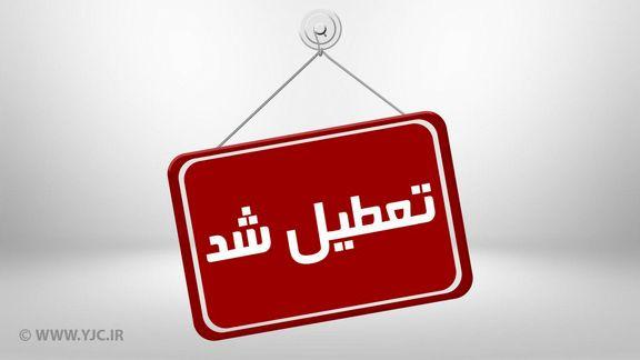 مدارس مرکزی چهارشنبه ۲۳ بهمن تعطیل است