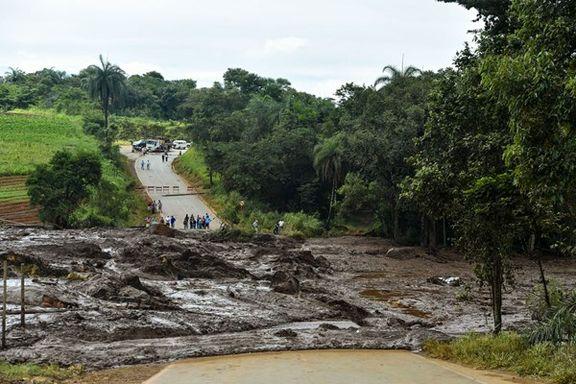 آمار تلفات فاجعه فروپاشی سد در برزیل به 157 نفر رسید + عکس