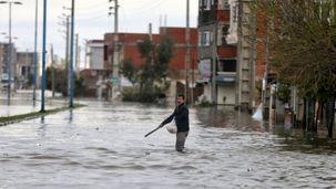 ماشین آلات سنگین برای کمکرسانی به مردم از تهران راهی شمال شدند