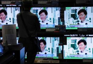 هنگ کنگی ها هم برعلیه دولت خود به خیابان ها آمدند