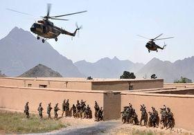 نیروهای افغانستان ۱۵ قرارگاه طالبان را منهدم کردند