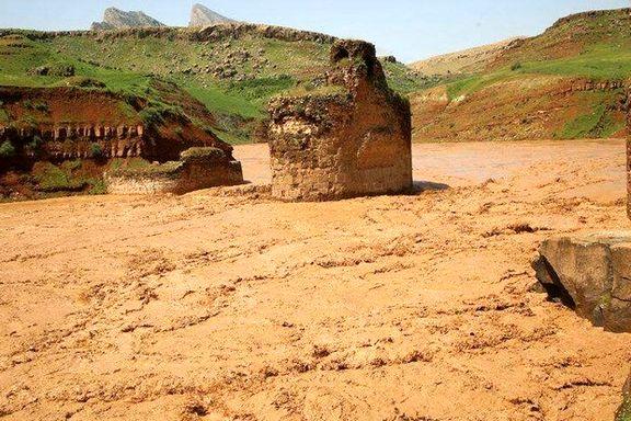 آثار و بناهای تاریخی که در اثر سیل تخریب شدند و یا آسیب دیدند + فیلم