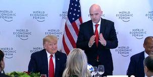 رئیس فیفا: ترامپ مثل ورزشکارهای درجه یک جهان است