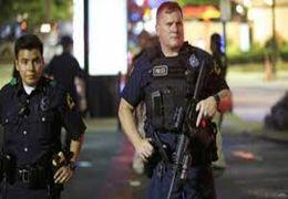 حمله وحشیانه پلیس آمریکا به معترضان با ماشین!