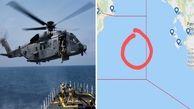 یک بالگرد نظامی در دریای مدیترانه سقوط کرد
