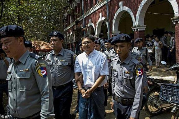 میانمار به دلیل نشر اسناد دولتی از دو خبرنگار رویترز شکایت کرد