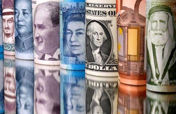 افزایش نرخ 7 ارز همراه با کاهش 29 ارز دیگر در نخستین روز زمستان